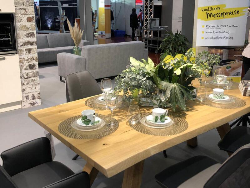 Küchenstudio Ausstellung auf der Bau-Fachmesse in Bad Salzuflen