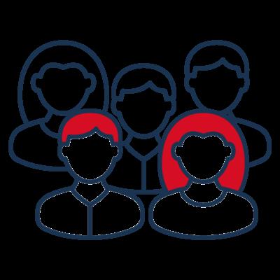 Piktogramm Personen Gruppe