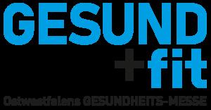 Messelogo Gesund + fit Ostwestfalens Gesundheitsmesse
