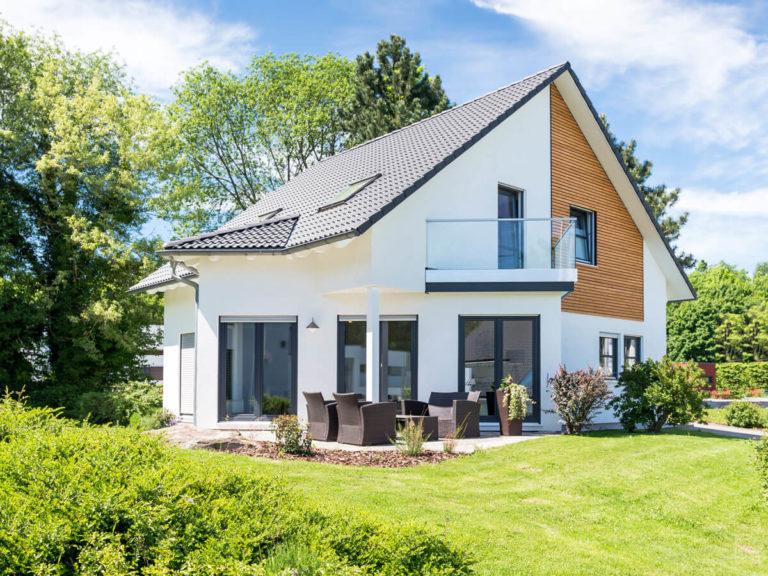 Modernes Einfamilienhaus im Grünen