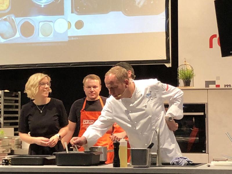 Live-Kochshow auf der HAUS 2020