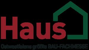 Messelogo Haus Ostwestfalens größte Bau-Fachmesse