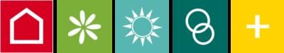 Haus | Garten | Touristik | Hochzeit | Gesund + fit Piktogramme