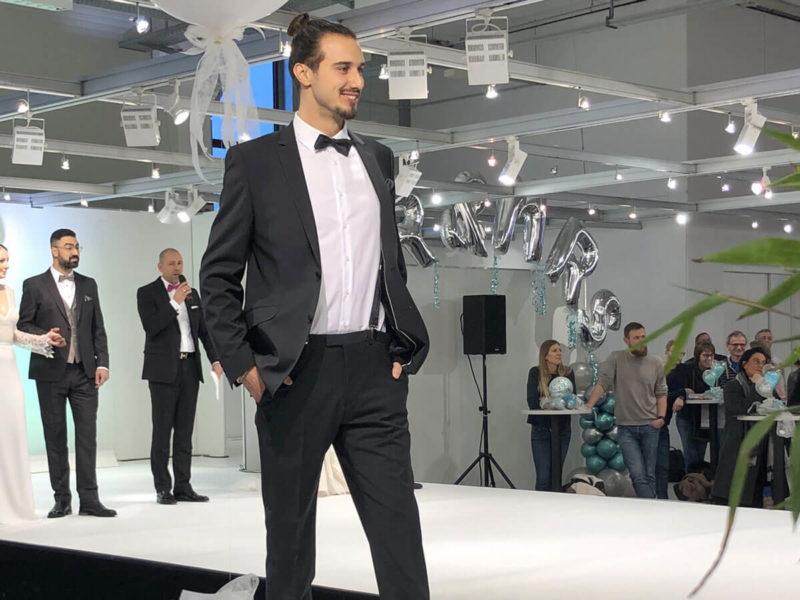 Herren Modenschau auf der Bda Salzufler Hochzeits-Messe 2020